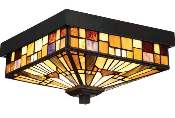 Quoizel Inglenook 2 Light Flush Outdoor Porch Lantern