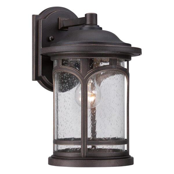 Quoizel Marblehead 1 Light Medium Outdoor Wall Lantern Palladian Bronze