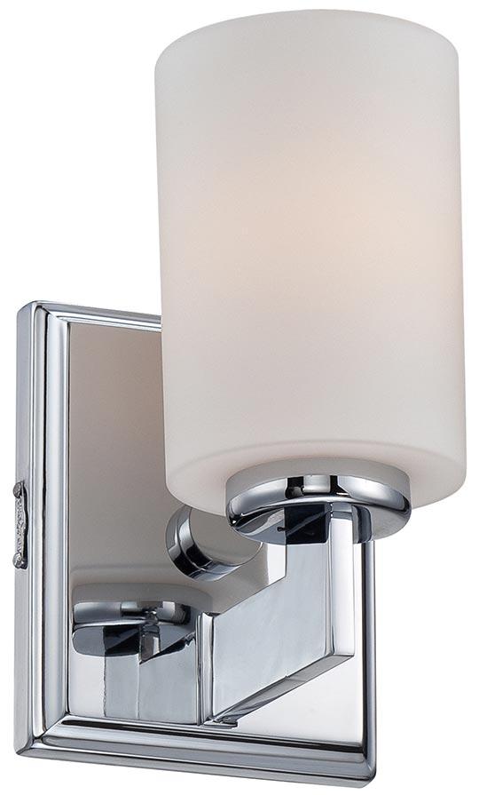 Quoizel Taylor Polished Chrome 1 Light Small Bathroom Wall Light IP44