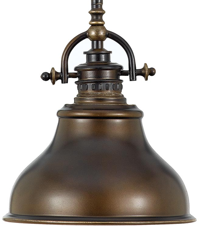 Quoizel Portland Western Bronze Pendant Light with Drum ... |Quoizel Pendant Lighting