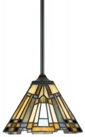 Inglenook Art Deco Style Mini Tiffany Pendant Light