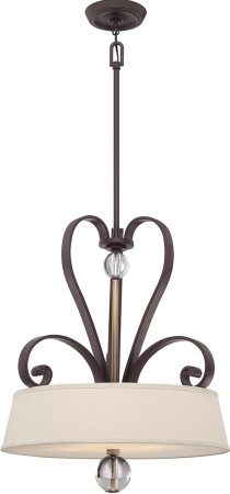 Quoizel Madison Manor 4 Light Designer Pendant Western Bronze