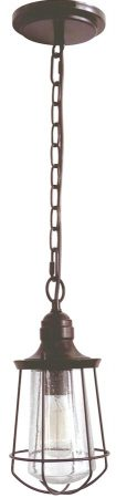 Quoizel Marine Small Hanging Outdoor Porch Lantern Bronze