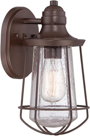 Quoizel Marine 1 Light IP44 Small Outdoor Wall Lantern Bronze