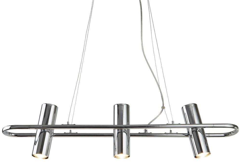 Telescope 3 Light Cylinder Shade Pendant Spotlight Bar