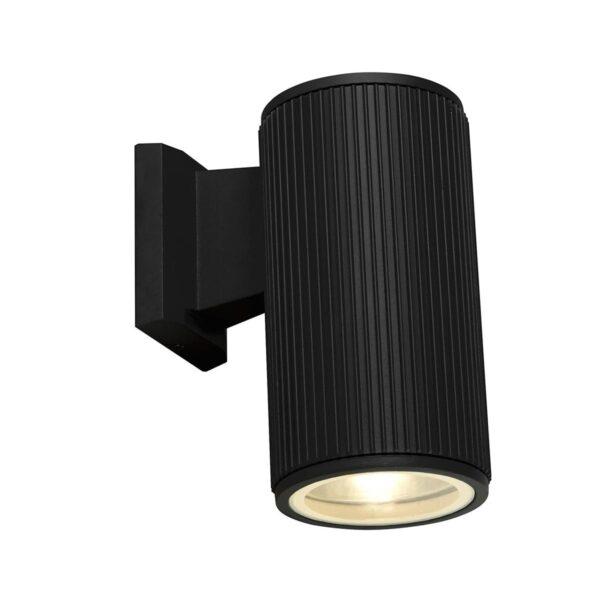 Modern 1 Lamp Outdoor Wall / Porch Down Spot Light Matt Black IP54
