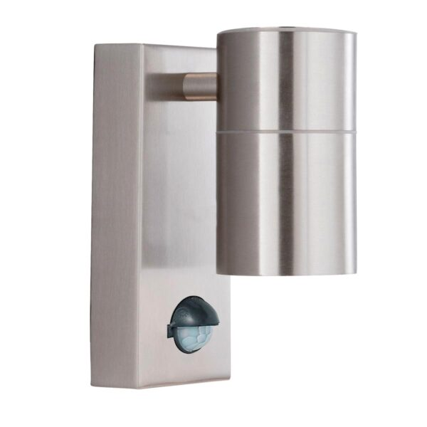 Modern Stainless Steel Outdoor PIR Downward Wall Spot Light IP44