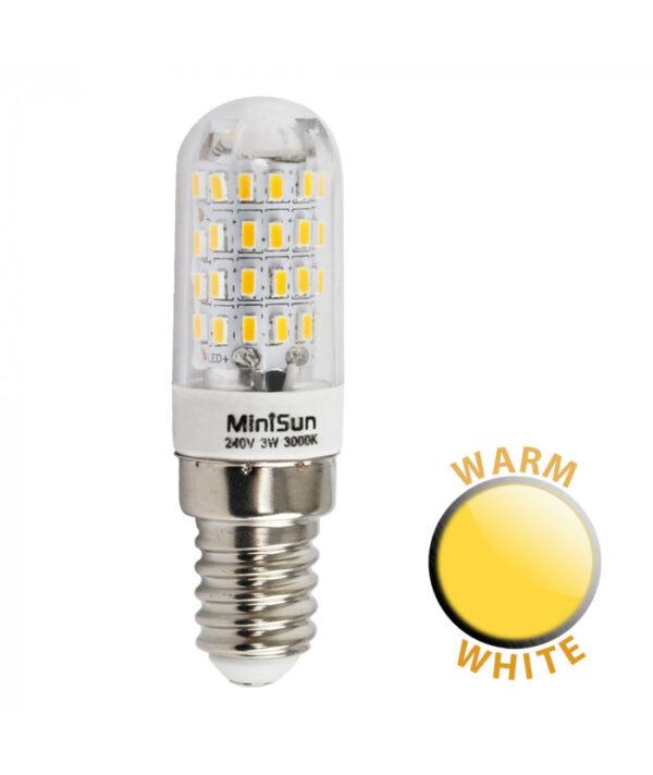 3w SES/E14 Pygmy Lamp Bulb 3000k Warm White 300 Lumen