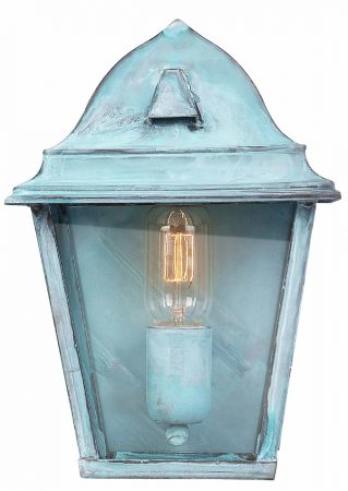 Elstead St James Verdigris Period Outdoor Wall Lantern