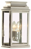 Elstead St Martins Replica Period Outdoor Wall Lantern Polished Nickel
