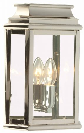 Elstead St Martins Replica Outdoor Wall Lantern Nickel