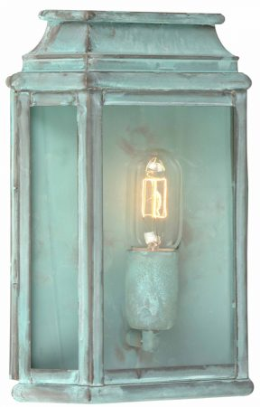 Elstead St Martins Replica Period Outdoor Wall Lantern Verdigris