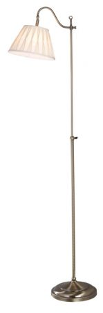 Dar Suffolk Traditional Floor Lamp Standard Reading Light
