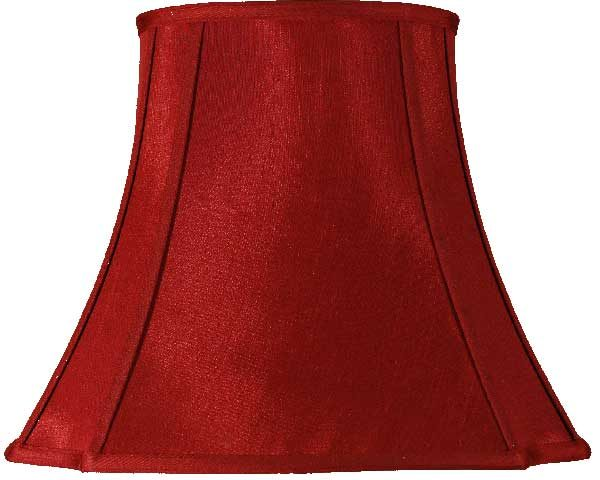 Wine Oval Cut 22 inch Lined Lampshade